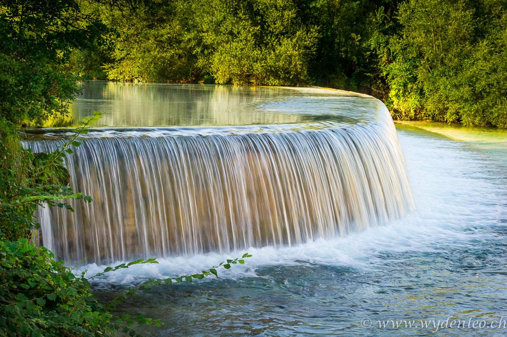 Wasserfall im Torre bei Tarcento