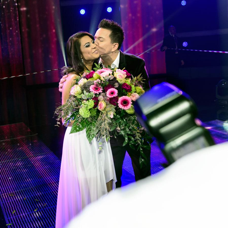 Sven Epiney gratuliert Mélanie René