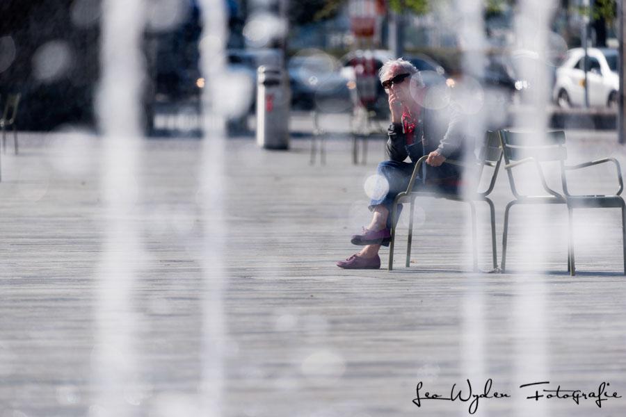 Relax auf dem Sechseläutenplatz in Zürich